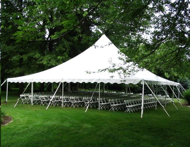 Where to find Pole Tent 40x40 in Plymouth
