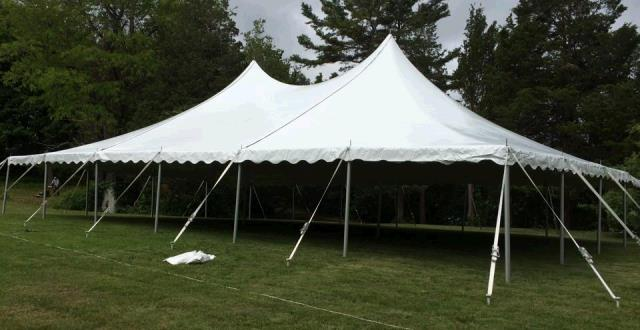 Where to find Pole Tent 40x60 in Plymouth