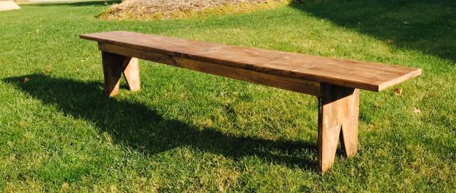 Where to find Wooden Benches in Plymouth