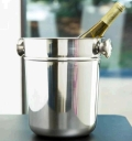 Rental store for 9  Stainless Wine Champagne Bucket - 8qt in Plymouth MA