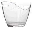 Rental store for Wine Bucket - Clear Acrylic Oval Wine in Plymouth MA
