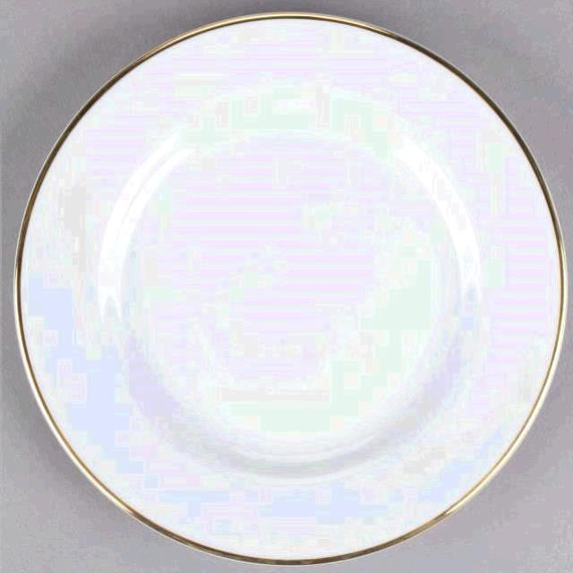 Where to find B B Dessert Plate 6.75  Gold Rim Chin in Plymouth