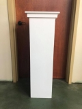 Rental store for white pedestal in Plymouth MA