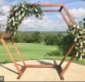 Rental store for HEXAGONAL CEREMONY ARCH in Plymouth MA