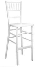 Rental store for CHIAVARI BAR STOOLS - WHITE in Plymouth MA