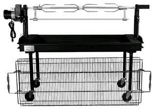 Outdoor Rotisserie Grill