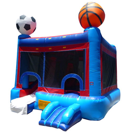 Slide Combo Sports Theme Rentals Plymouth Ma Where To