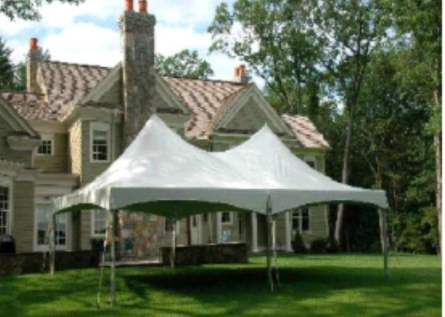 Where to find Frame Tent 20x30 High Peak in Plymouth
