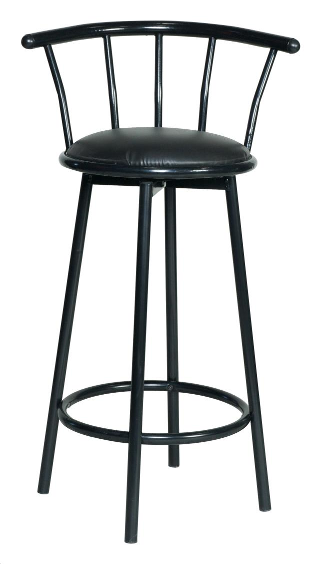 Bar Stool Metal Swivel Blk Rentals Plymouth Ma Where To