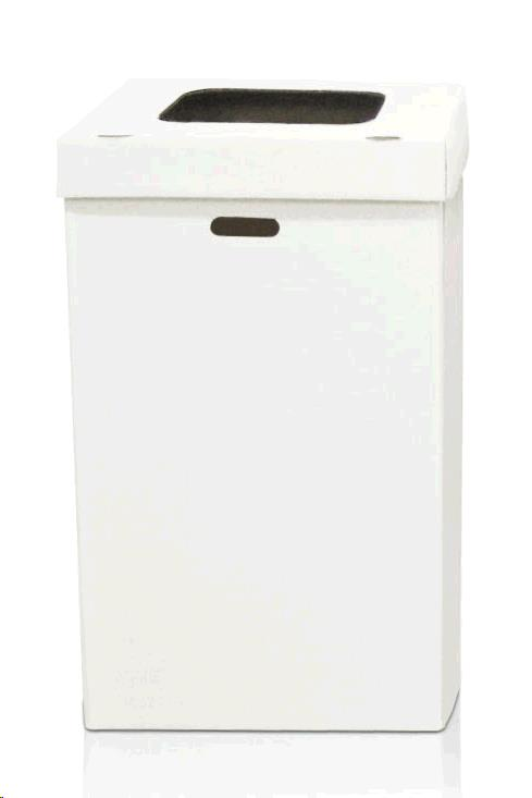 Trash Box Disposable White Rentals Plymouth Ma Where To