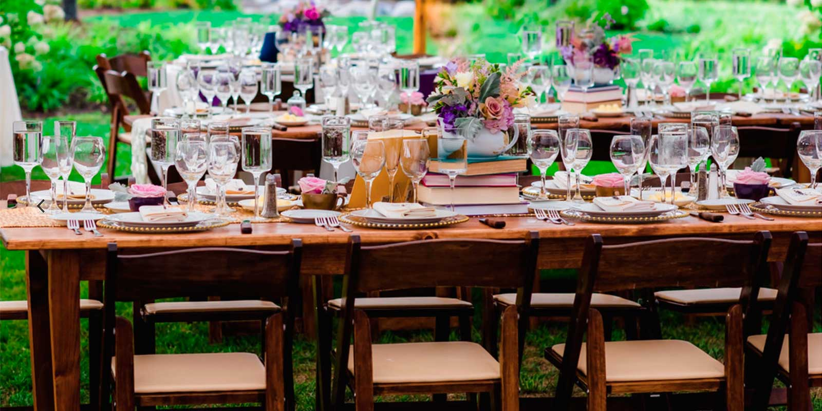 Tabletop Rentals in Plymouth